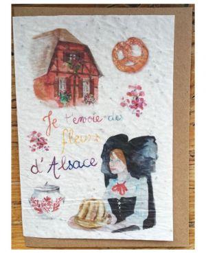 Je t'envoie des fleurs d'Alsace