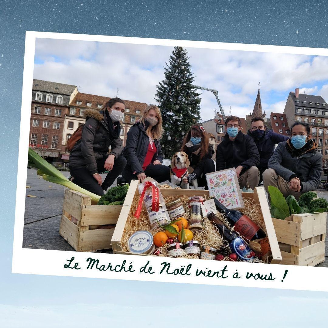 Marmelade Marché de Noel