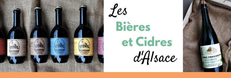 Bières et Cidres d'Alsace